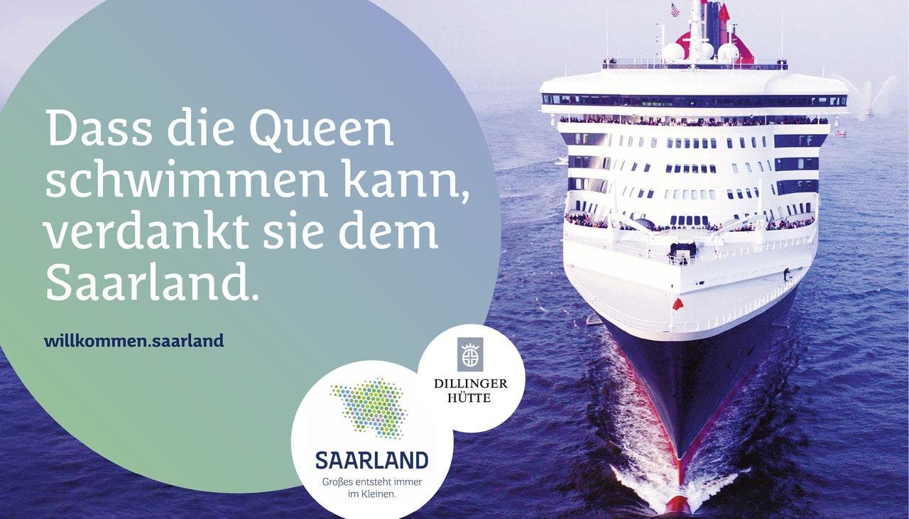 Dass die Queen schwimmen kann, verdankt Sie dem Saarland.