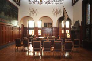 Sitzungssaal des Alten Rathauses in Dillingen