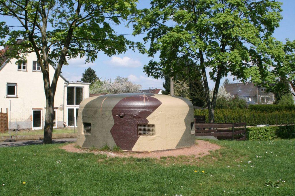 Bunker 20 in der Annastraße in Pachten