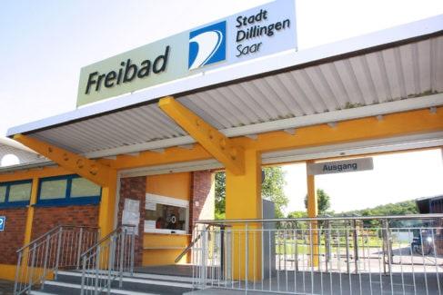 Freibad Dillingen